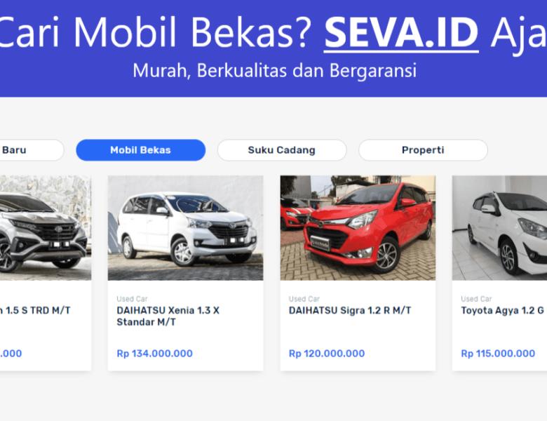 Seva.id Platform Mobil Bekas Expert Berkualitas