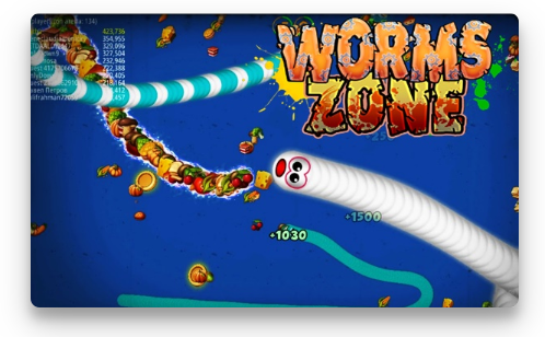 Download Worms Zone io Mod Apk (Unlimited Money)